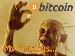 Bitcoin Image - Golum