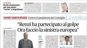 FATTO QUOTIDIANO page of my interview - 23 SEP 2015