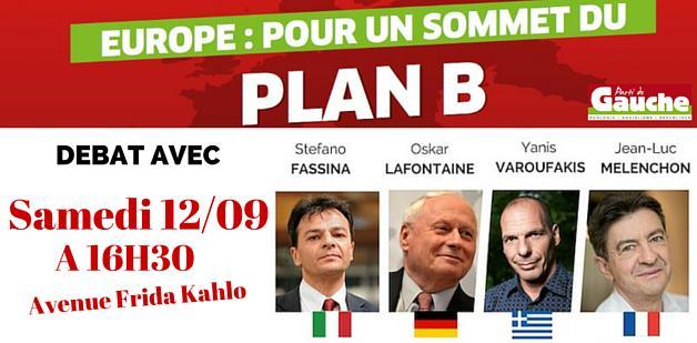 Plan B Meeting Sat 12 September 2015