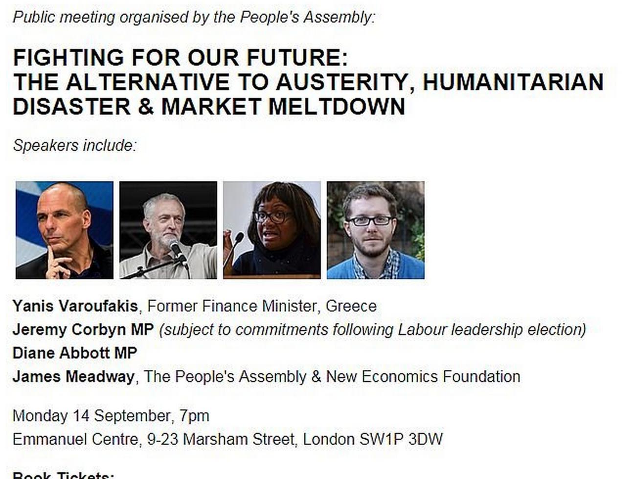 With Jeremy Corbyn 14 Sep 2015